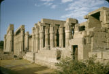 Egypt, ruins of Luxor Temple in ancient Thebes