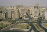 Egypt, buildings across from Tahrir Square in Cairo