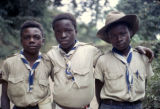 Democratic Republic of the Congo, boy scouts in uniform