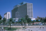 Cairo (Egypt), outside view of the Hilton Hotel
