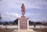Uganda, memorial to Mahatma Gandhi in Jinja