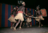 Democratic Republic of the Congo, tribal dancers performing