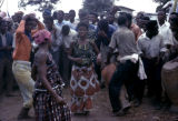 Democratic Republic of the Congo, people dancing at Independence Day celebration