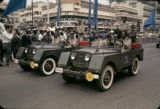 Democratic Republic of the Congo, military vehicles in Independence Day parade