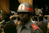 Democratic Republic of the Congo, policeman at Independence Day celebration