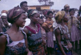 Democratic Republic of the Congo, women at Independence Day celebration