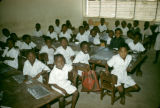Democratic Republic of the Congo, students in classroom
