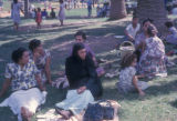 Cairo (Egypt), group of women sitting in the park