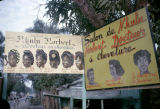 Democratic Republic of the Congo, billboard advertisements for beauty salons