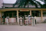 Democratic Republic of the Congo, customs police office at Brazzaville airport