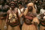 Democratic Republic of the Congo, women in traditional dress at Independence Day celebration