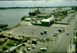 Nigeria, view of Port of Lagos and port authority