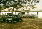 Nigeria, cars parked outside Kano Club