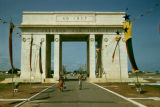 Ghana, freedom arch at Independence Square in Accra