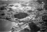 Kimberley (South Africa), aerial view of diamond mines