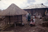 Kenya, women gathered in Kikuyu village