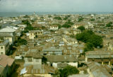 Ghana, view of rooftops in Accra
