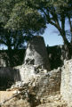 Zimbabwe, ruins of tower at Great Zimbabwe