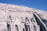 Abu Sunbul (Egypt), temple of Ramses II, King of Egypt and Queen Nefertari