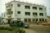 Ghana, Singer Sewing Machines office building in Accra