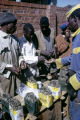 Zimbabwe, street vendor selling roasted caterpillars in Harare