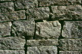Zimbabwe, stone wall of temple at Great Zimbabwe