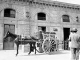 Italy, horse-drawn cart in Palermo