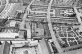 Germany, aerial view of gardens and facilities in Berlin