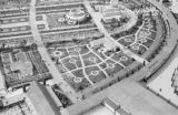 Germany, aerial view of gardens in Berlin