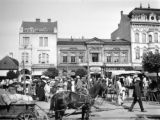Romania, bustling city streets in Tirgu Mures