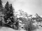 Switzerland, view of Alps in Engelberg