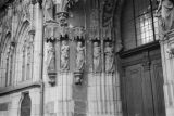 Germany, detail of bride's door at St. Sebald Church in Nuremberg