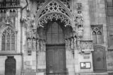 Germany, bride's door at St. Sebald Church in Nuremberg