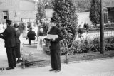 Germany, Salvation Army soldiers evangelizing near Berlin Zoo