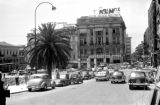 Greece, car traffic on street in Athens