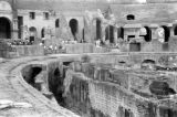 Italy, ruins of Colosseum in Rome