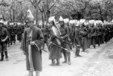 Turkey, men dressed as Ottoman janissaries in Istanbul