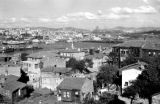 Turkey, view of Istanbul and possibly Bosporus Strait