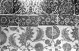 Turkey, decorative tiles, possibly at Eyüp Sultan Mosque in Istanbul