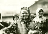 Belarus, woman at market