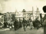 Ukraine, religious procession in the streets