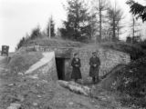 France, German bunker and trenches from World War I in Saint-Mihiel