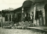 Belarus, bazaars on the market square