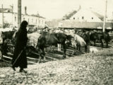Belarus, wagons at market