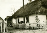 Poland, view of house from road