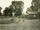 Poland, view of small farm