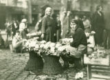 Ukraine, women selling cauliflower