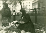 Ukraine, women selling carrots and cabbage