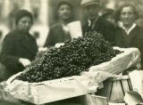Ukraine, grape stall