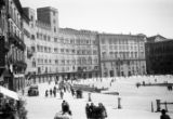 Italy, view of Piazza del Campo in Siena